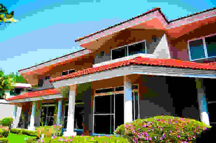 Casas estilo moderno: ideas, arquitectura e imágenes de escala1.4 Moderno
