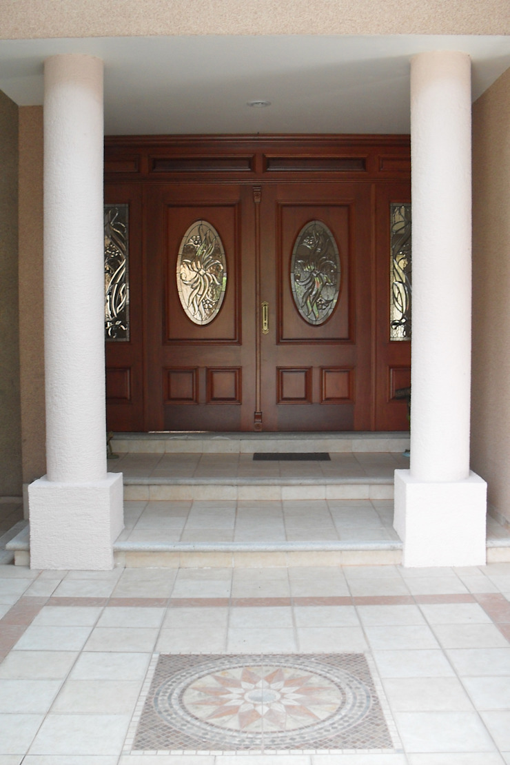 escala1.4 Puertas y ventanas de estilo moderno