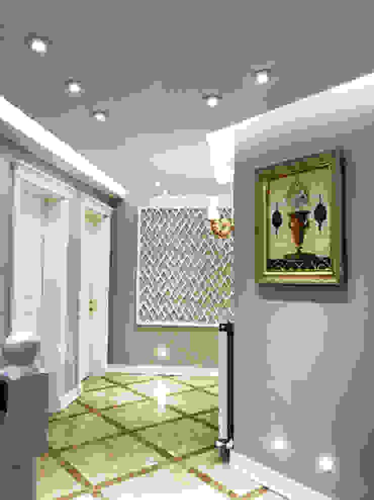 Deniz Yıldızı Evleri Modern Koridor, Hol & Merdivenler Merve Demirel Interiors Modern Seramik
