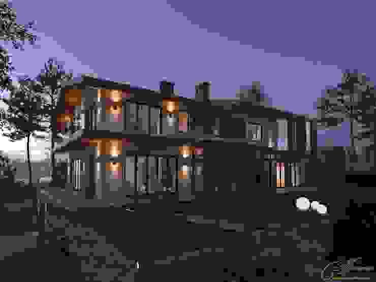 Дом на берегу озера Увильды: Дома в . Автор – Компания архитекторов Латышевых 'Мечты сбываются',