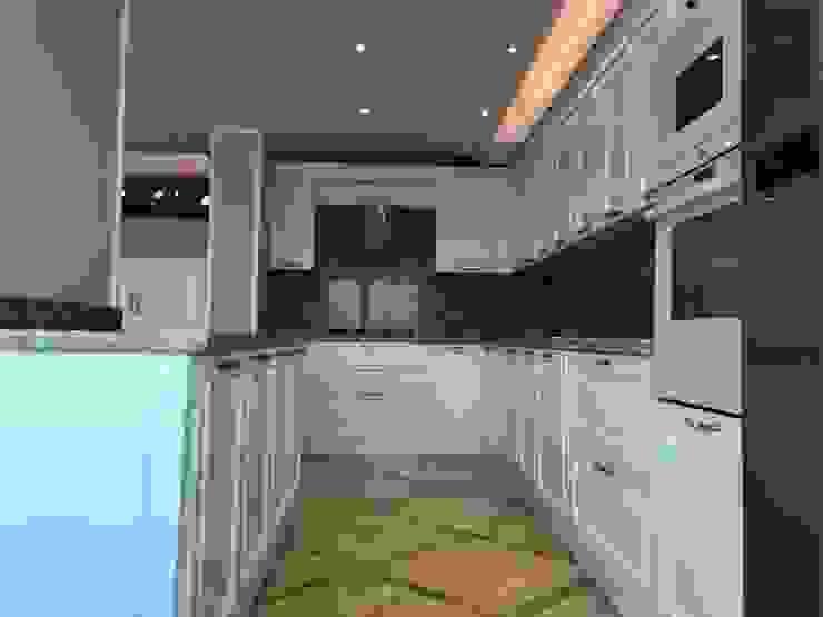 Deniz Yıldızı Evleri Modern Mutfak Merve Demirel Interiors Modern Ahşap-Plastik Kompozit