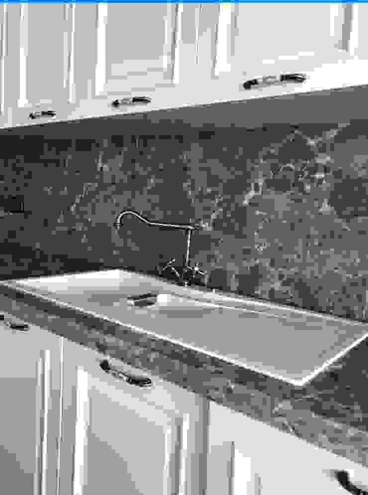 Deniz Yıldızı Evleri Modern Mutfak Merve Demirel Interiors Modern Ahşap Ahşap rengi