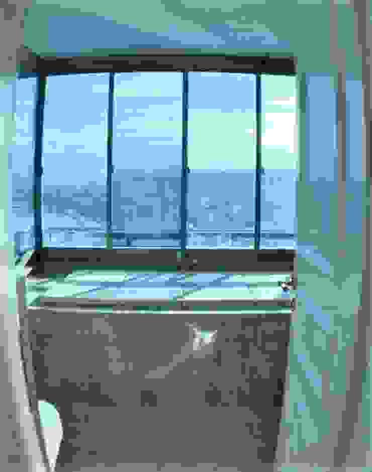 Deniz Yıldızı Evleri Modern Banyo Merve Demirel Interiors Modern Granit