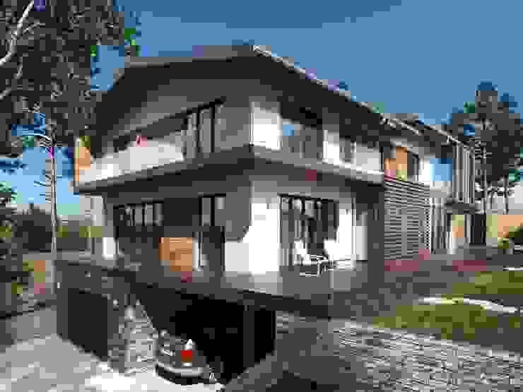 Компания архитекторов Латышевых 'Мечты сбываются' 房子
