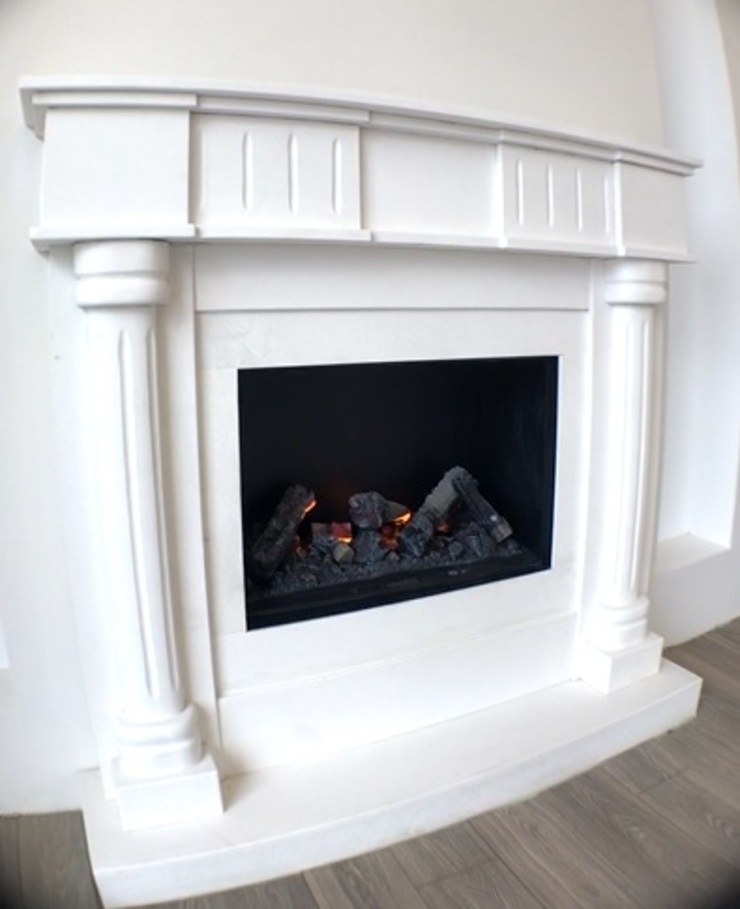 Deniz Yıldızı Evleri Modern Oturma Odası Merve Demirel Interiors Modern Kuvars