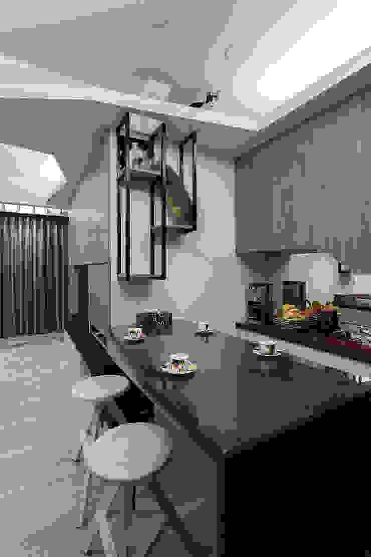 居家工作室 根據 Green Leaf Interior青葉室內設計 現代風