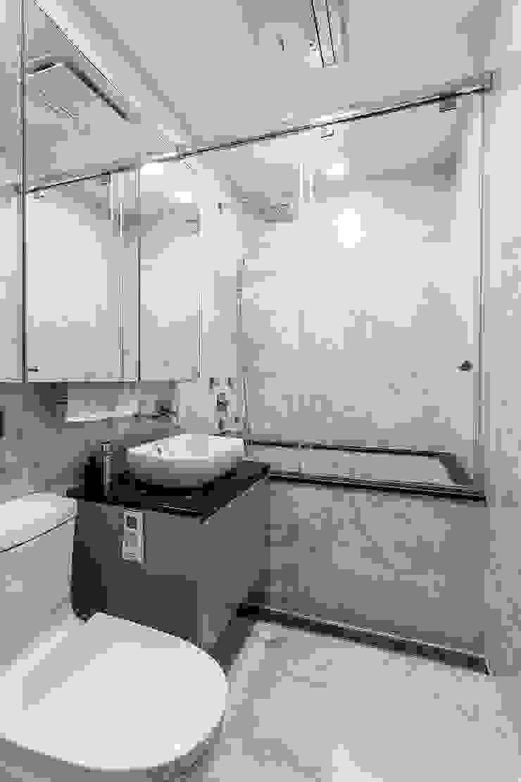 浴室 現代浴室設計點子、靈感&圖片 根據 Green Leaf Interior青葉室內設計 現代風