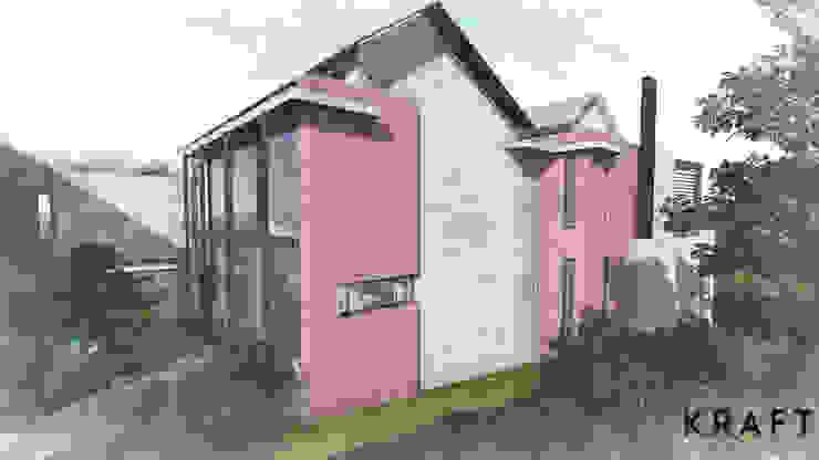 House Bouwer Modern houses by Kraft Architects Modern