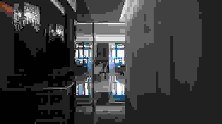 BRAVO INTERIOR DESIGN & DECO KUAN STYLE 璞碩室內裝修設計工程有限公司 現代風玄關、走廊與階梯