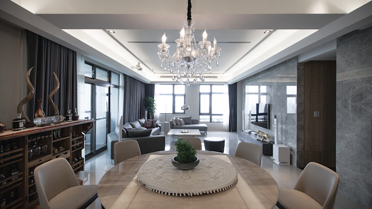 BRAVO INTERIOR DESIGN & DECO KUAN STYLE 璞碩室內裝修設計工程有限公司 現代廚房設計點子、靈感&圖片