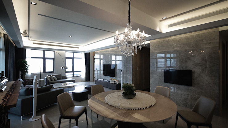 BRAVO INTERIOR DESIGN & DECO KUAN STYLE 璞碩室內裝修設計工程有限公司 餐廳