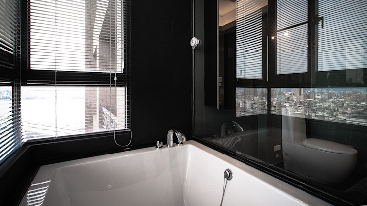 BRAVO INTERIOR DESIGN & DECO KUAN STYLE 璞碩室內裝修設計工程有限公司 現代浴室設計點子、靈感&圖片