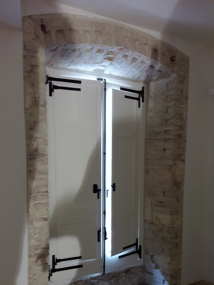 Studio Angius - Pisano Windows & doors Windows Wood White