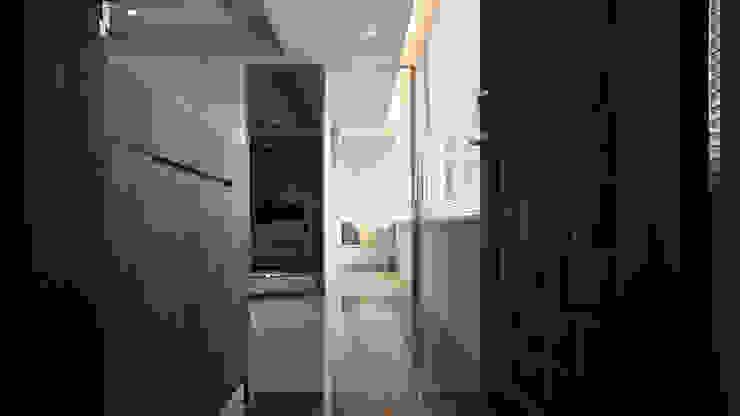 BRAVO INTERIOR DESIGN & DECO JIA STYLE 璞碩室內裝修設計工程有限公司 現代風玄關、走廊與階梯