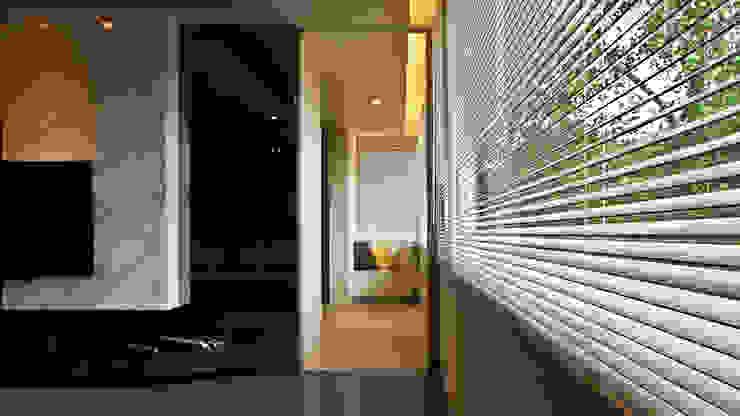 Pasillos, vestíbulos y escaleras de estilo moderno de 璞碩室內裝修設計工程有限公司 Moderno