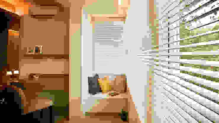 BRAVO INTERIOR DESIGN & DECO JIA STYLE 現代風玄關、走廊與階梯 根據 璞碩室內裝修設計工程有限公司 現代風