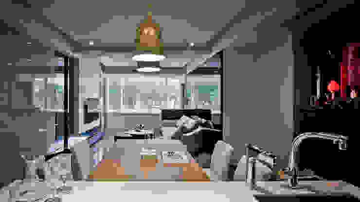 BRAVO INTERIOR DESIGN & DECO JIA STYLE 璞碩室內裝修設計工程有限公司 现代客厅設計點子、靈感 & 圖片