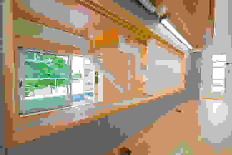 m+h建築設計スタジオ Study/office Wood