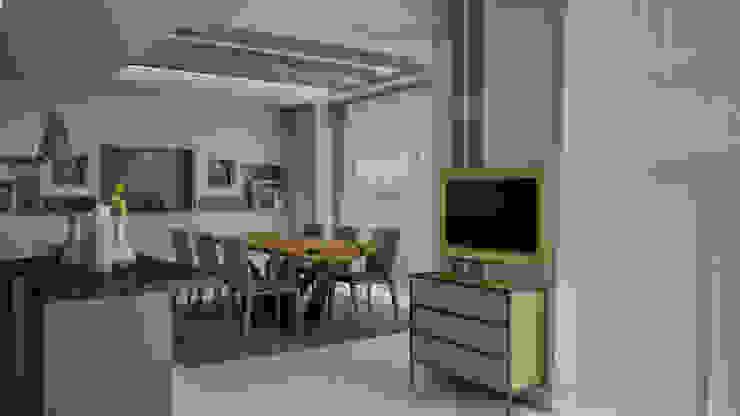nrgn hnm proje Modern Mutfak Ramazan Yücel İç mimarlık Modern