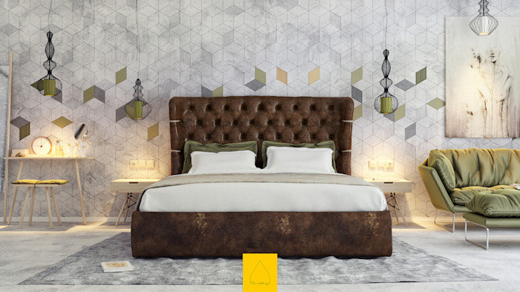 Bedroom by Penintdesign İç Mimarlık ,