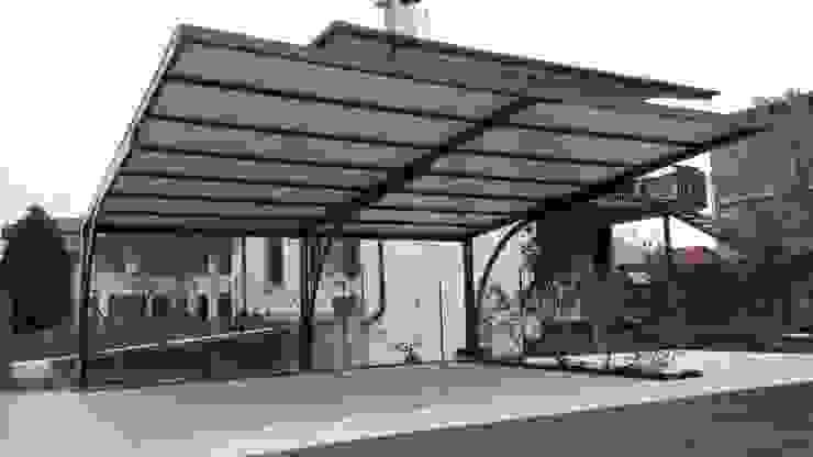 Modern garage/shed by Arredo urbano service srl Modern Iron/Steel