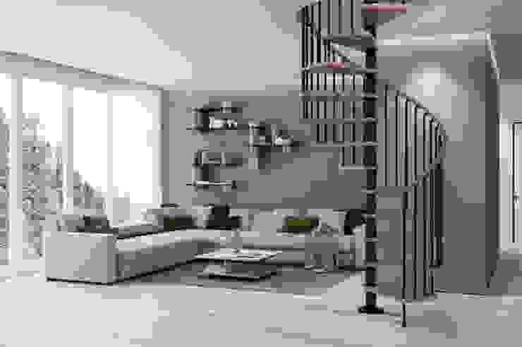 RINTAL Corridor, hallway & stairsStairs Solid Wood Wood effect