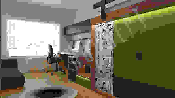 RayKonsept – Genç Odası Dekorasyonu: modern tarz , Modern