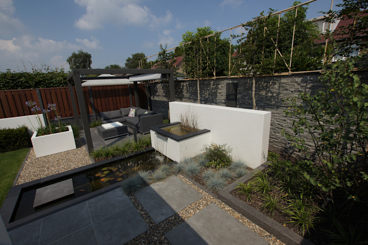 Tuinen Moderne tuinen van GroenerGras Hoveniers Eindhoven Modern