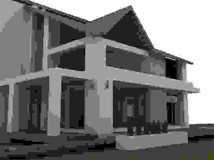 Casa campestre Chinauta Casas de estilo tropical de no aplica Tropical