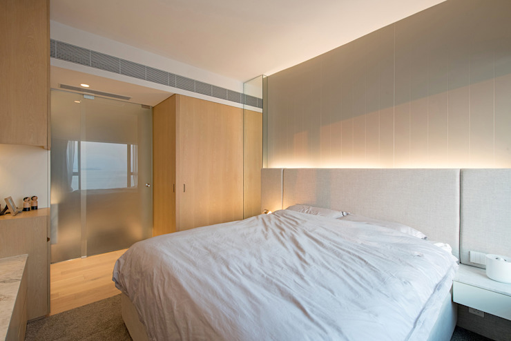 Minimalist bedroom by arctitudesign Minimalist Plywood