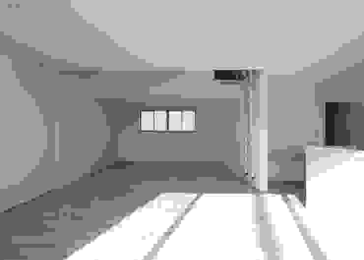 有限会社アルキプラス建築事務所 Modern media room
