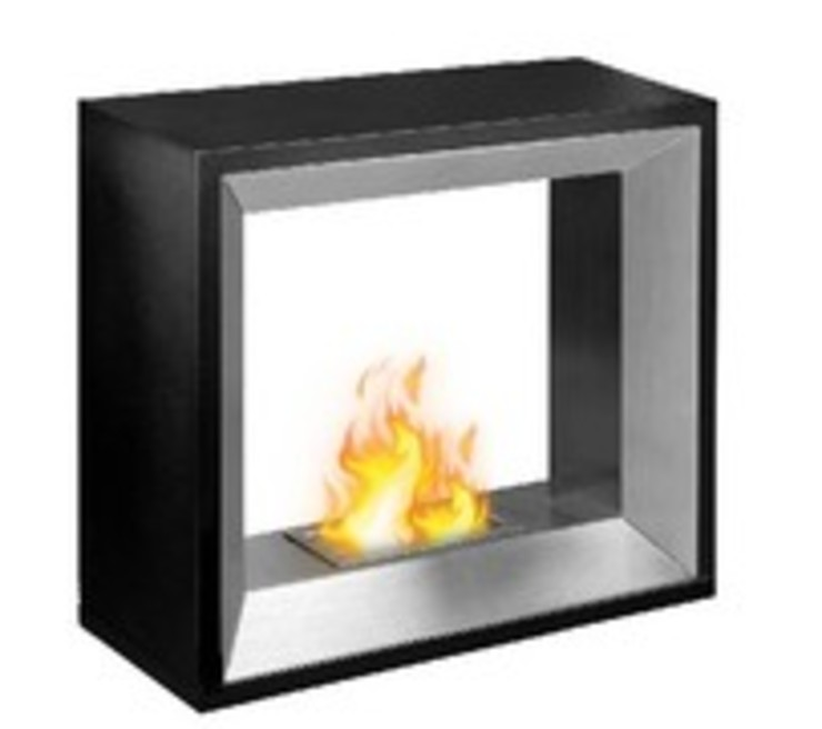 Free Standing: modern  by EcoFlames, Modern