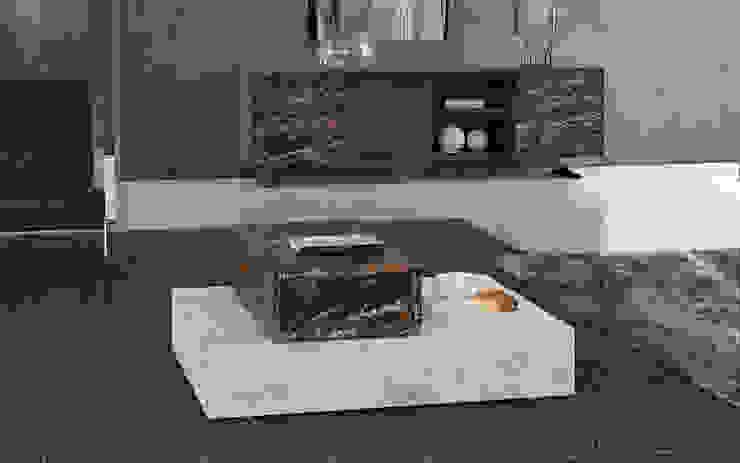 BOX SET Salas de estar minimalistas por Maami Home Minimalista Mármore