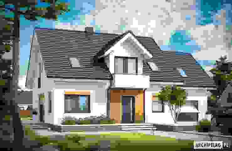 บ้านและที่อยู่อาศัย โดย Pracownia Projektowa ARCHIPELAG,