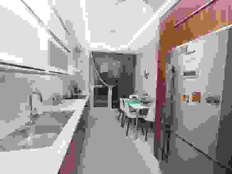 MAG Tasarım Mimarlık Modern Kitchen