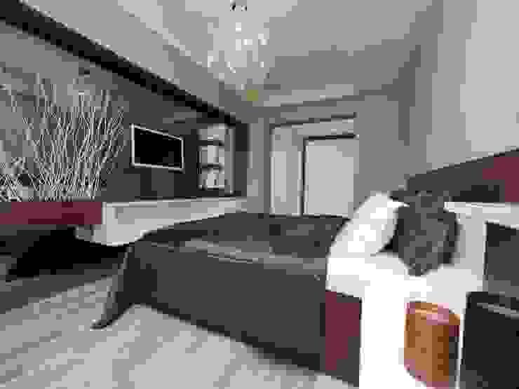 TrioParkKonut Çorlu - Örnek Daire Modern Yatak Odası MAG Tasarım Mimarlık Modern