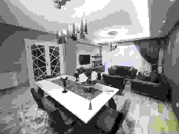 Modern dining room by MAG Tasarım Mimarlık İnşaat Emlak San.ve Tic.Ltd.Şti. Modern