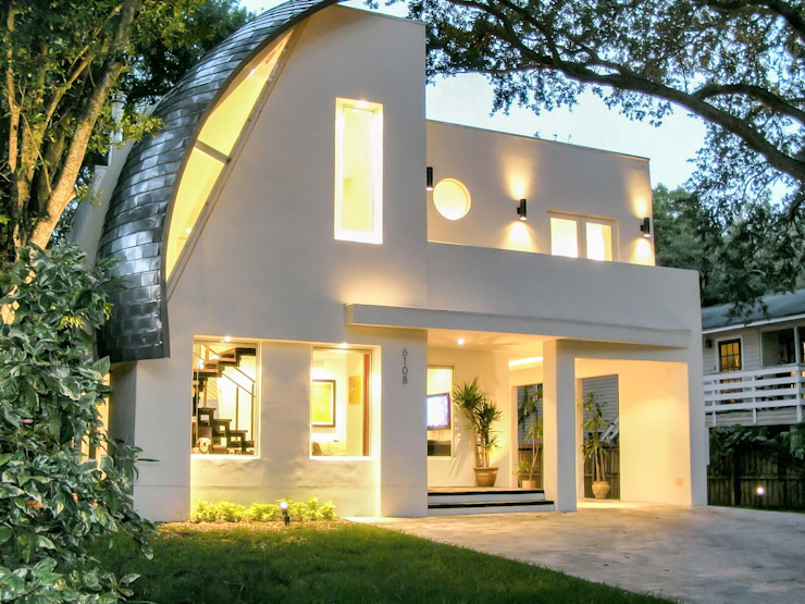 Organic Modern Modern Houses by Jaju Design & Development Modern