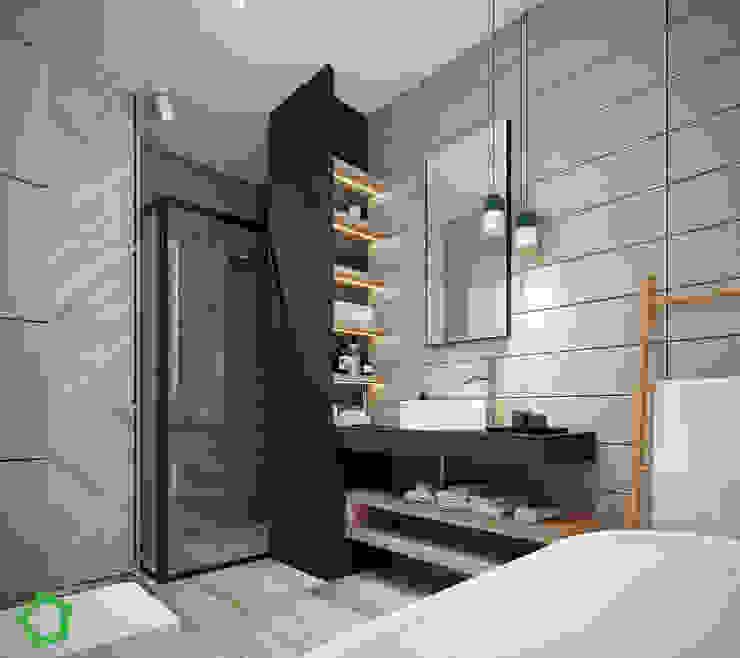 Bathroom Modern Bathroom by Polygon arch&des Modern