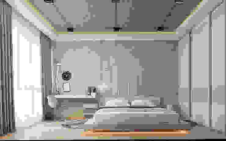 Bedroom Modern Bedroom by Polygon arch&des Modern