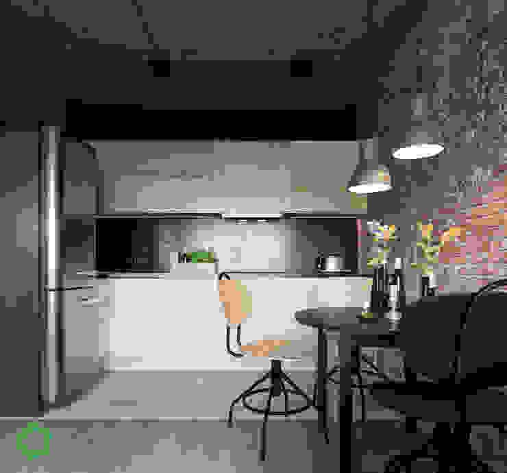 Kitchen by Polygon arch&des Minimalist