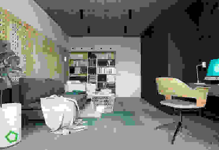 Office room by Polygon arch&des Minimalist