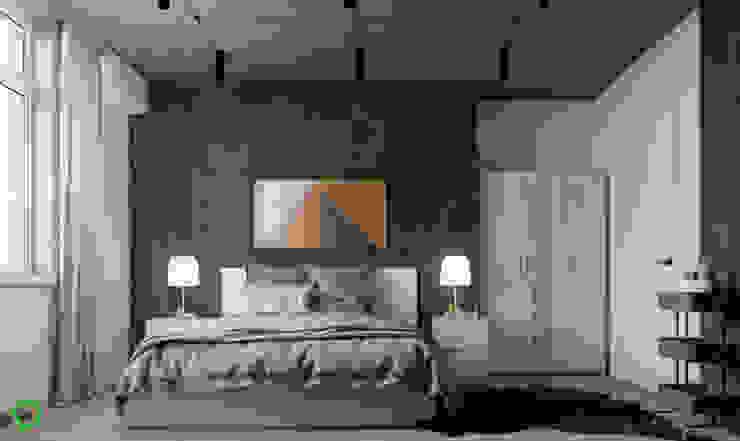 Bedroom Minimalist bedroom by Polygon arch&des Minimalist