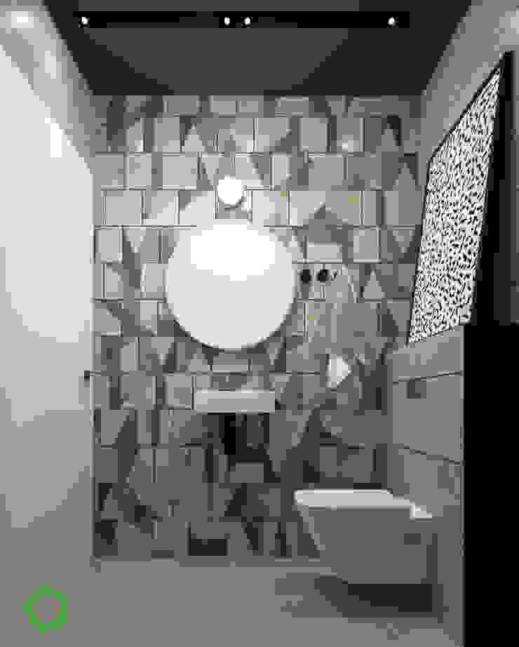 bathroom Minimalist style bathroom by Polygon arch&des Minimalist