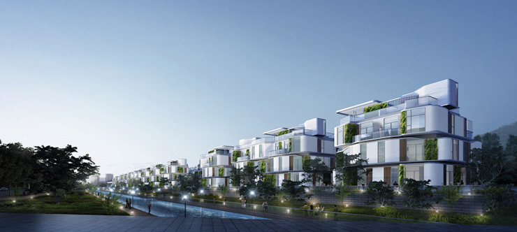 Novotown, Hengqin, Zhuhai, China, by Aedas by Architecture by Aedas Modern