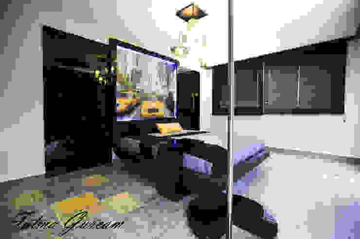 MODERN YATAK ODASI Modern style bedroom by Fatma Gürçam İçmekan Tasarım ve Uygulama Modern MDF