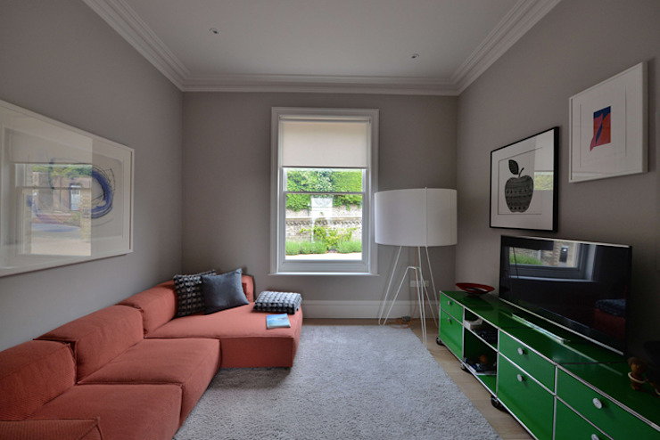 House refurbishment and extensions BBM Sustainable Design Limited Modern study/office