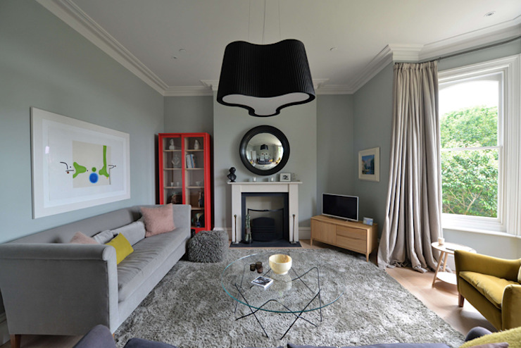 House refurbishment and extensions BBM Sustainable Design Limited Modern living room