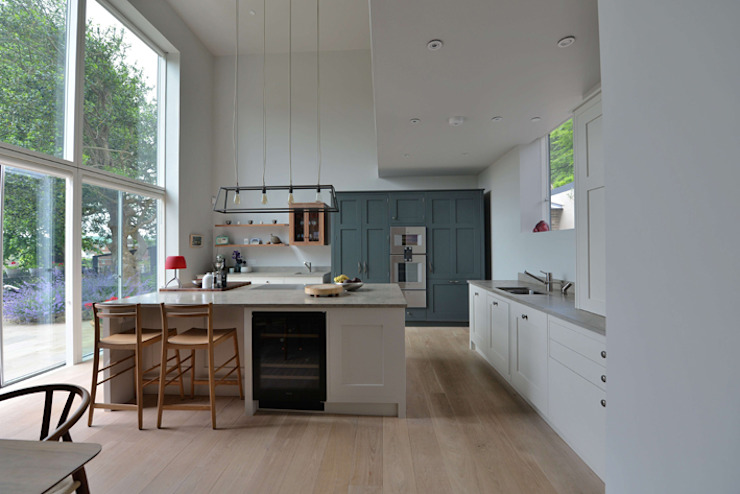 House refurbishment and extensions BBM Sustainable Design Limited Modern kitchen
