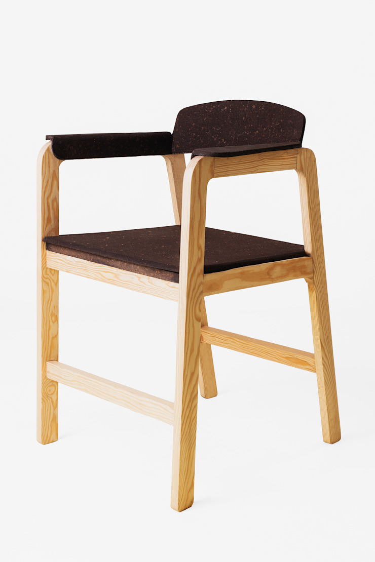 Poly Cork Chair por Creative-cork Moderno Cortiça